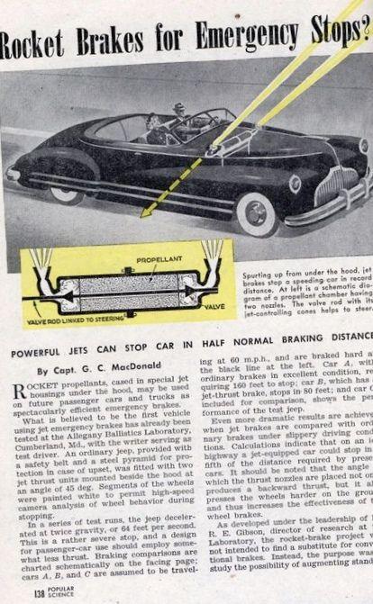 10 Потрясающих автомобильных технологий...