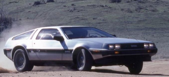 1982 Delorean dmc-12: винтажный тест-драйв