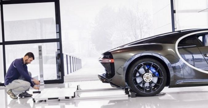 9 Новых фактов о производстве bugatti chiron
