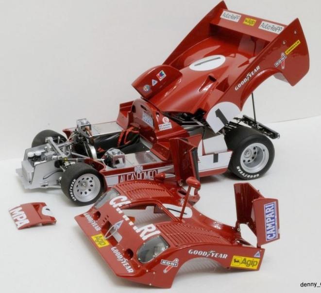Alfa romeo 33 tt 12, №1, победитель...
