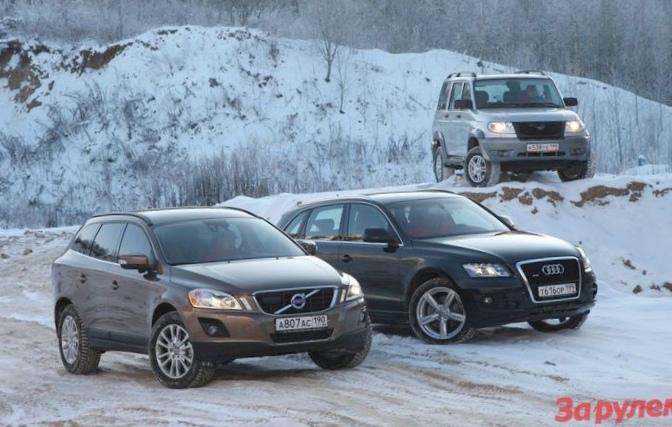 Audi делает очередной шаг по бездорожью