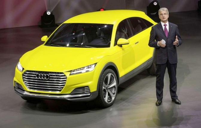 Audi показала китайцам пятидверный кроссовер tt