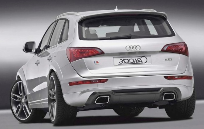 Audi q5 превратилась в кроссовер...