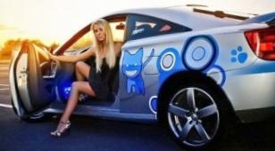 Автомобильные чехлы специально для женщины?