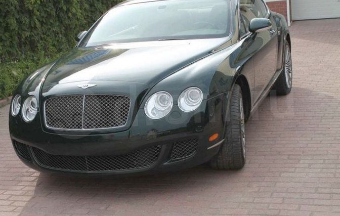 Bentley continental gt 6.0 (2008 г.в.)