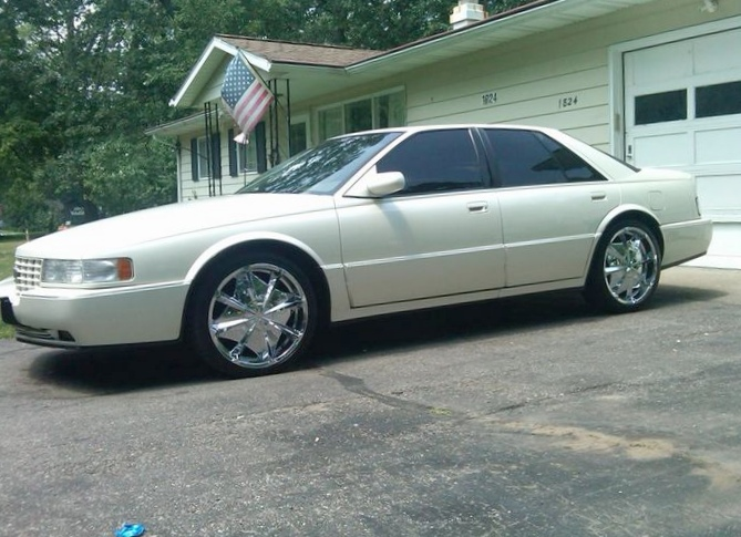 Cadillac sts 1996 г.в.