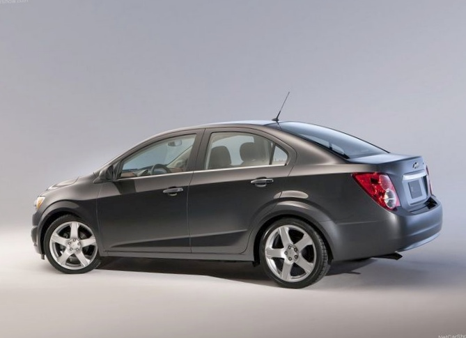 Chevrolet обновила aveo для америки