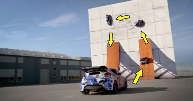 Десять безумных автомобильных трюков