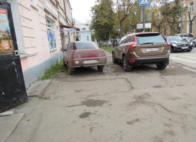 """""""Доска позора"""" - о парковках во..."""