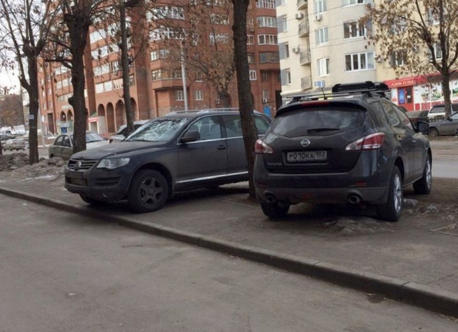 """""""Доска позора"""". топ парковочных..."""