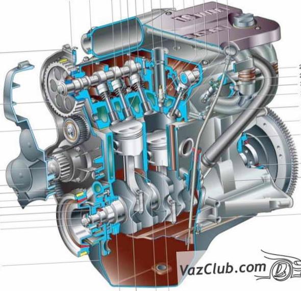 Двигатель внутреннего сгорания...