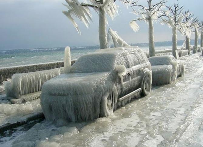Езда в зимних условиях