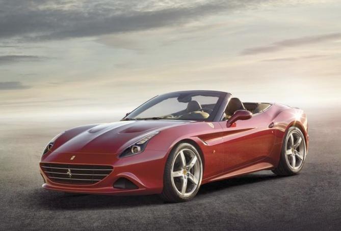 Ferrari представила новую «калифорнию»
