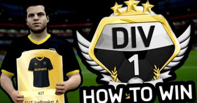 Fifa 17: epic win за выход в 6-й дивизион!