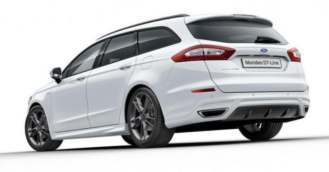 Ford представил оспортивленный mondeo