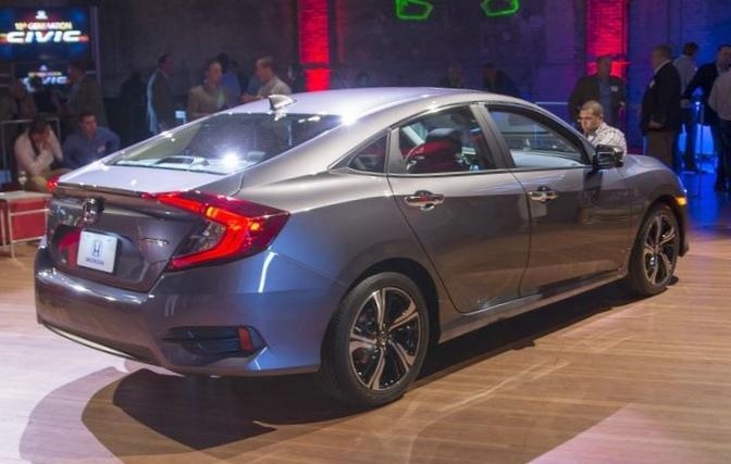 Honda представила новый седан civic