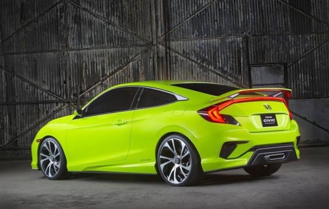 Honda удивила концептом нового civic (видео)