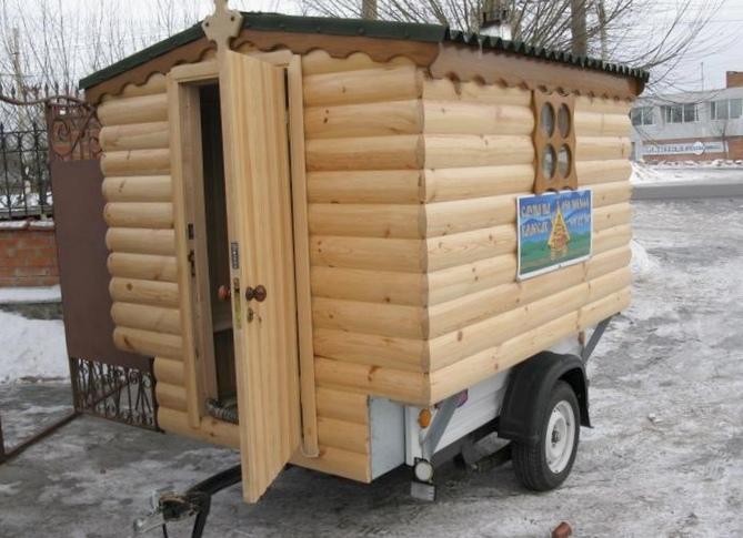 Идея бизнеса: баня на колесах или просто автобаня