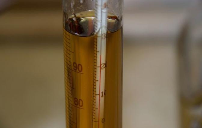 Измеряем градусы и литры