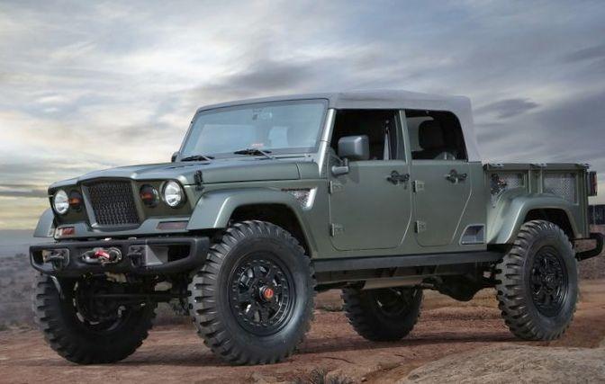 Jeep представил семь концептуальных внедорожников