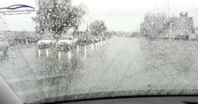 Как преодолеть страх езды на автомобиле во время дождя?