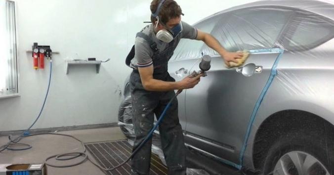 Как производится профессиональная покраска автомобиля