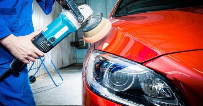 Как убрать потёки после покраски автомобиля?