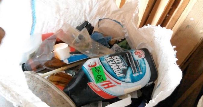 Комфорт в доме. пресс для мусора.