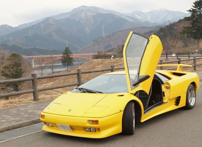 Lamborghini diablo. ламборгини-дьябло 6,0