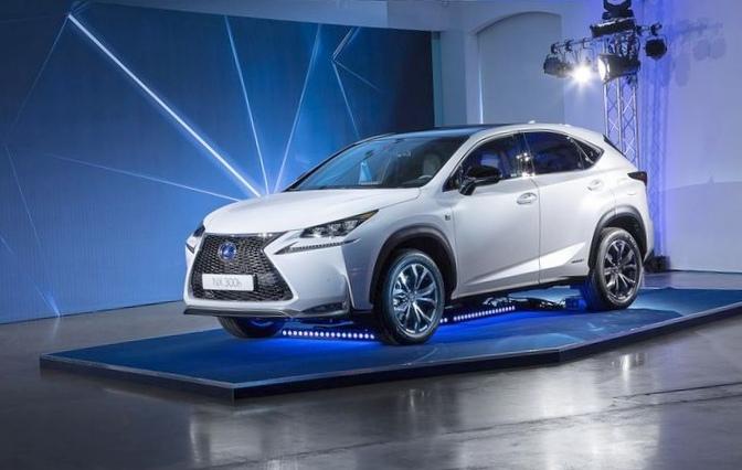 Lexus представил среднеразмерный кроссовер nx
