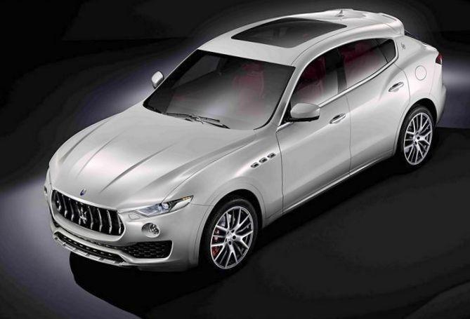Maserati показала свой первый серийный кроссовер