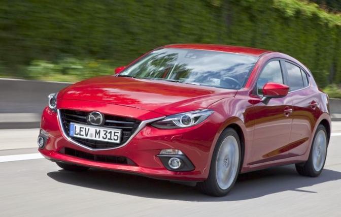Mazda возглавила тройку самых...
