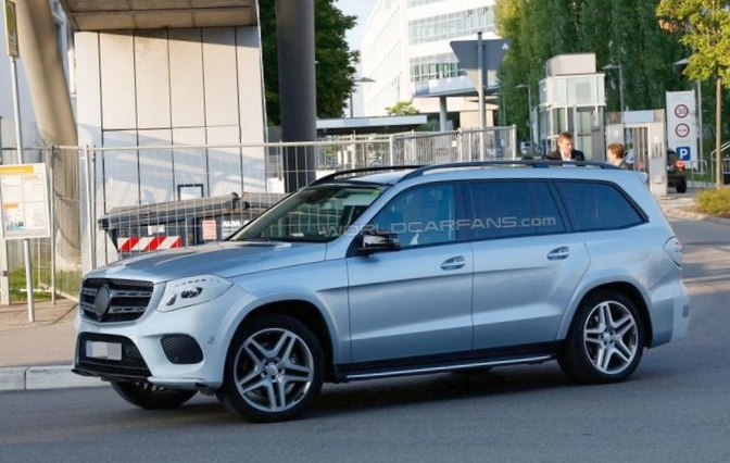 Mercedes-benz представил внедорожник gle (фото)