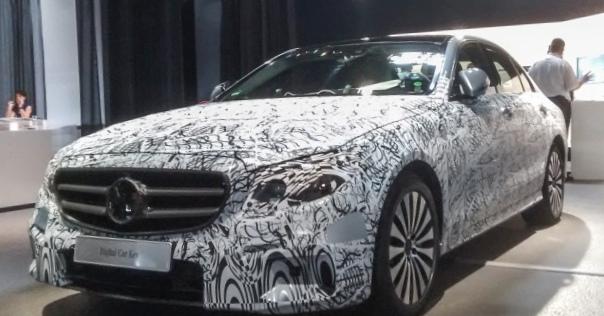 Mercedes-benz раскрыл тайны нового e-class