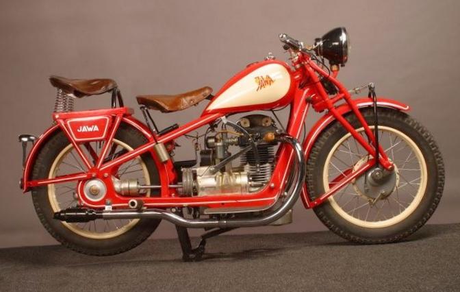 "Мотоцикл ""jawa"" 1973 года выпуска..."
