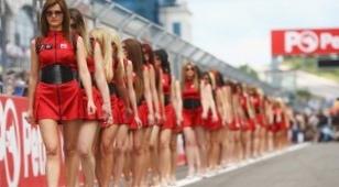 На моделей гран-при россии потратили 5 млн рублей