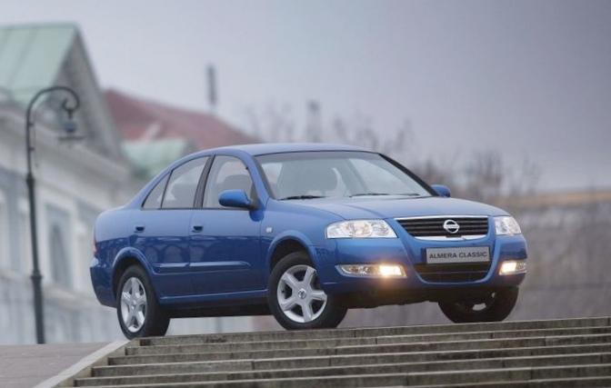 Nissan almera — самый популярный в с-классе
