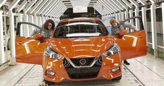 Nissan начал выпускать хэтчбек micra нового поколения