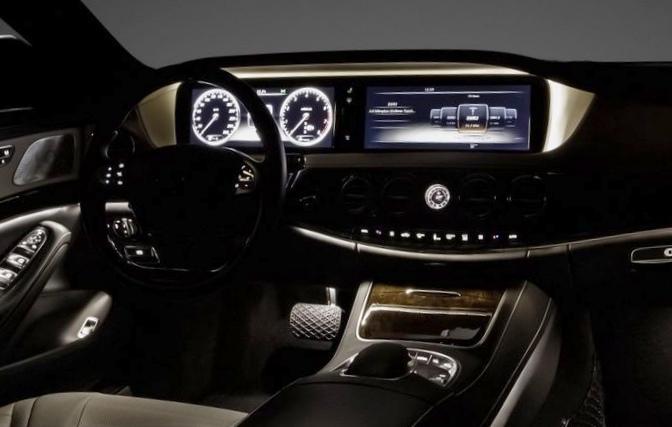 Новый mercedes-benz s-класса 2014...