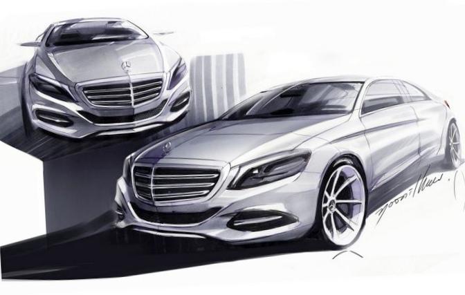 Новый mercedes-benz s-класса седан...