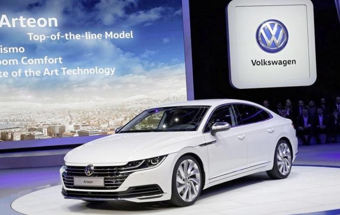 Объявлены европейские цены лифтбека volkswagen arteon