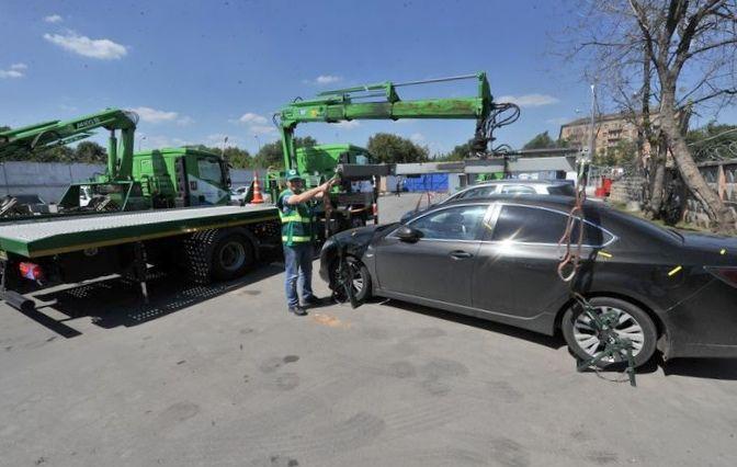 Общественные автомобили появились в москве