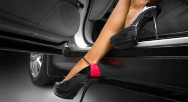 Обувь для настоящей автогонщицы