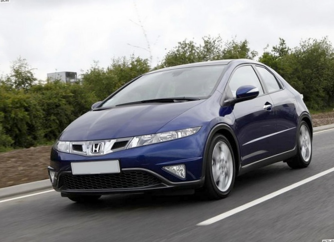 Обзор honda civic 2016