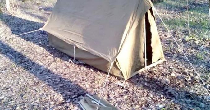 """""""Остается поставить палатки и..."""