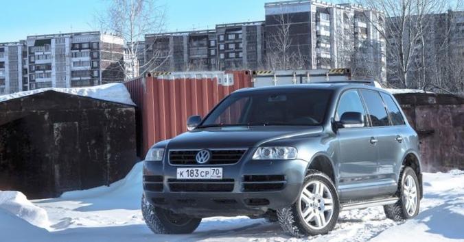 Отзыв о поездке на volkswagen touareg 2010