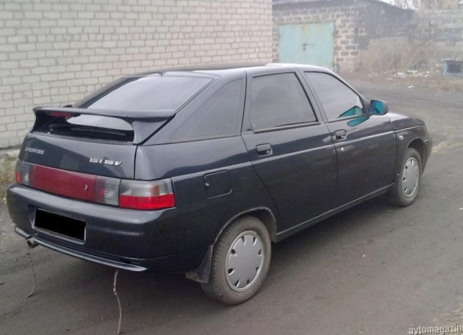 Отзыв об автомобиле ваз 21124 2008 года выпуска
