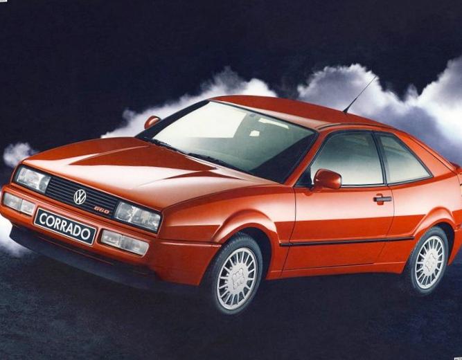 Отзыв об автомобиле volkswagen corrado 1989 года выпуска
