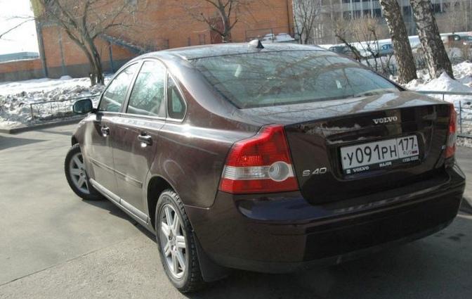 Отзыв об автомобиле volvo s40 2008 года выпуска