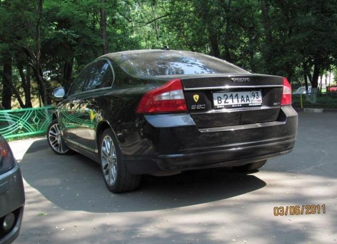 Отзыв об автомобиле volvo s80 2007 года выпуска